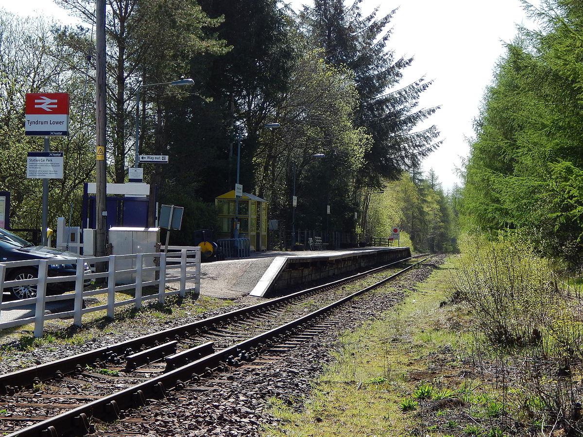 Tyndrum Lower railway station - Wikipedia