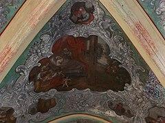 Tyniec - Klasztor - Kapitularz - Fresk 03.JPG
