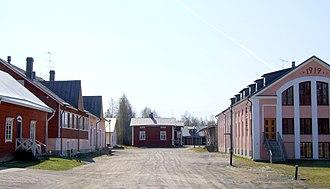 Tyrnävä - Meijeritie Street in Tyrnävä village