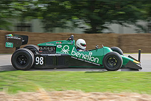 Tyrrell 012 - Image: Tyrrell 012 Goodwood 2008