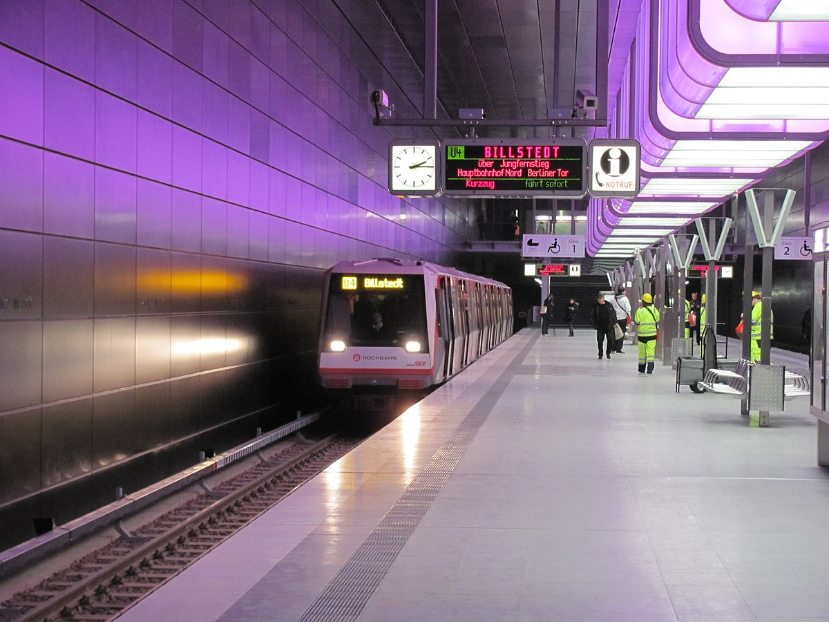 Hamburg U Bahn Hauptbahnhof Nach Hotel Ameron
