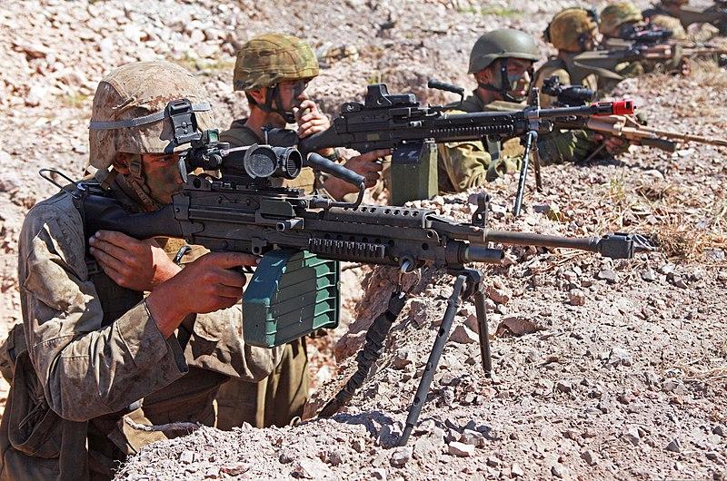 File:U.S. Marines with Weapons Platoon, Lima Company, 3rd ...