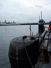 U 15 A Type 206 Submarine Of The German Navy At The Kiel Week 2007