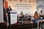 USAID Pakistan's Mission Director, Gregory Gottlieb addressing the participants at the event (16030458554).jpg