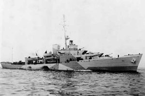 USCGC Campbell (WPG-32) at Argentia winter 1942.jpg