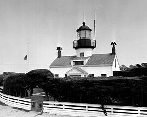Point Pinos Lighthouse - Image: USC Gpointpinos