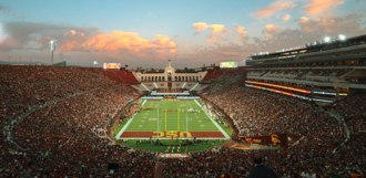 Los Angeles Memorial Coliseum USC vs University of Oregon November 2019.png