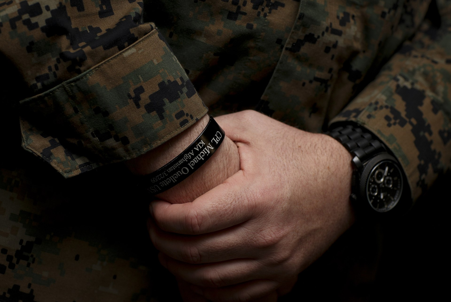 Kia Bracelet For Soldier Killed In A Car Crash