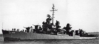 USS Aulick (DD-569) - Image: USS Aulick;0556901
