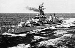 USS Benner (DD-807) underway in the Pacific Ocean in 1964.jpg