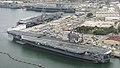 USS Carl Vinson (CVN-70), USS Ronald Reagan (CVN-76) and USS John C. Stennis (CVN-74) at NAS North Island in June 2015.JPG
