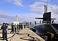 USS Florida (SSGN-728)-Souda Bay jetty.jpg