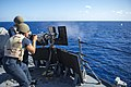USS Gravely conducts a live-fire exercise. (9939358736).jpg