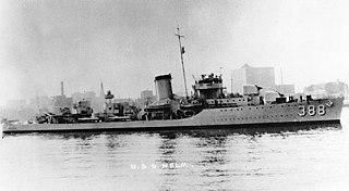 USS <i>Helm</i> (DD-388)