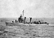 USS Hobson (DMS-26) underway in 1948