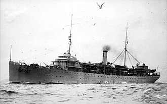 USS Melville (AD-2) - Image: USS Melville (AD 2) underway in 1929