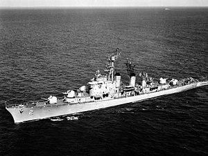 USS Mitscher (DL-2) underway 1957.jpg