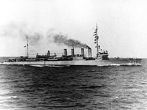USS Philip (DD-76) underway during the 1930s (NH 75533)