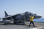 USS Wasp conducts flight operations. (29091917825).jpg