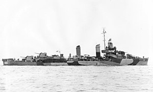 USS Woodworth (DD-460) in 1944