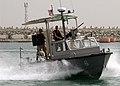 US Navy 040517-N-6812T-010 Crew members assigned to Inshore Boat Unit Twenty Five (IBU-25), patrols the waters off of Fujairah UAE.jpg