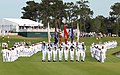 US Navy 090506-N-2821G-093 Sailors march on the 18th fairway during Military Appreciation Day during The Players Championship golf tournament at TPC Sawgrass.jpg