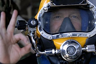 Diver communications Methods used by underwater divers to communicate