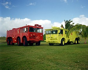 Four Wheel Drive - FWD Corp P-2 crash tender (left)