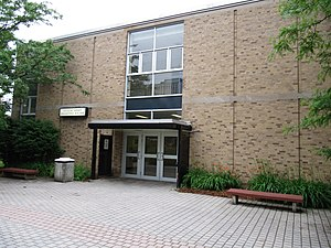 University of Waterloo - Constructed in 1958, the Douglas Wright Engineering Building is the oldest building erected for use by the university.