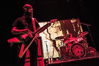 Ufomammut - Poia (guitarist) and Vita (drummer)