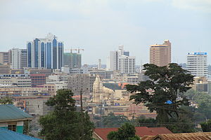 English: Downtown Uganda