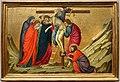 Ugolino di nerio, altare di santa croce, 1324-25 ca. 04 deposizione.jpg