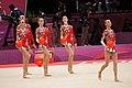Ukraine Rhythmic gymnastics at the 2012 Summer Olympics (7915644556).jpg