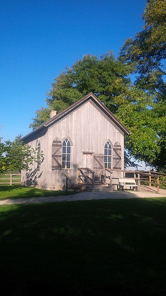 Uncle Tom's Cabin Historic Site - Image: Uncle Tom's Church Uncle Tom's Cabin Historic Site