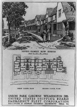 Emile G. Perrot - Image: Union Park Gardens House Layouts