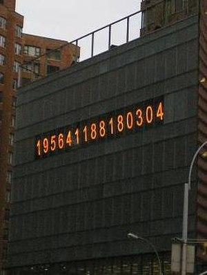 Metronome (public artwork) - Image: Union Square Metronome detail (clock)