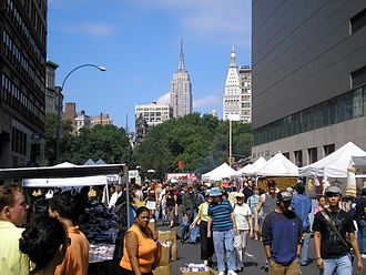 Street fair - A street fair in New York City