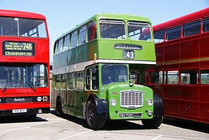 United Counties bus 712 (KBD 712D), 2010 North Weald bus rally.jpg