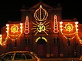 United Kingdom Leicester Belgrave Rd Diwali Lights 2006.jpg