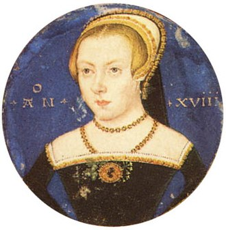 Amy Robsart - Image: Unknown lady by Levina Teerlinc c 1550 Yale University