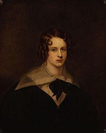 Poet Felicia Dorothea Hemans