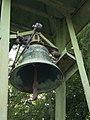 Upper bell, belfry at the Holy Trinity Parish Church, 2018 Kelenvölgy.jpg