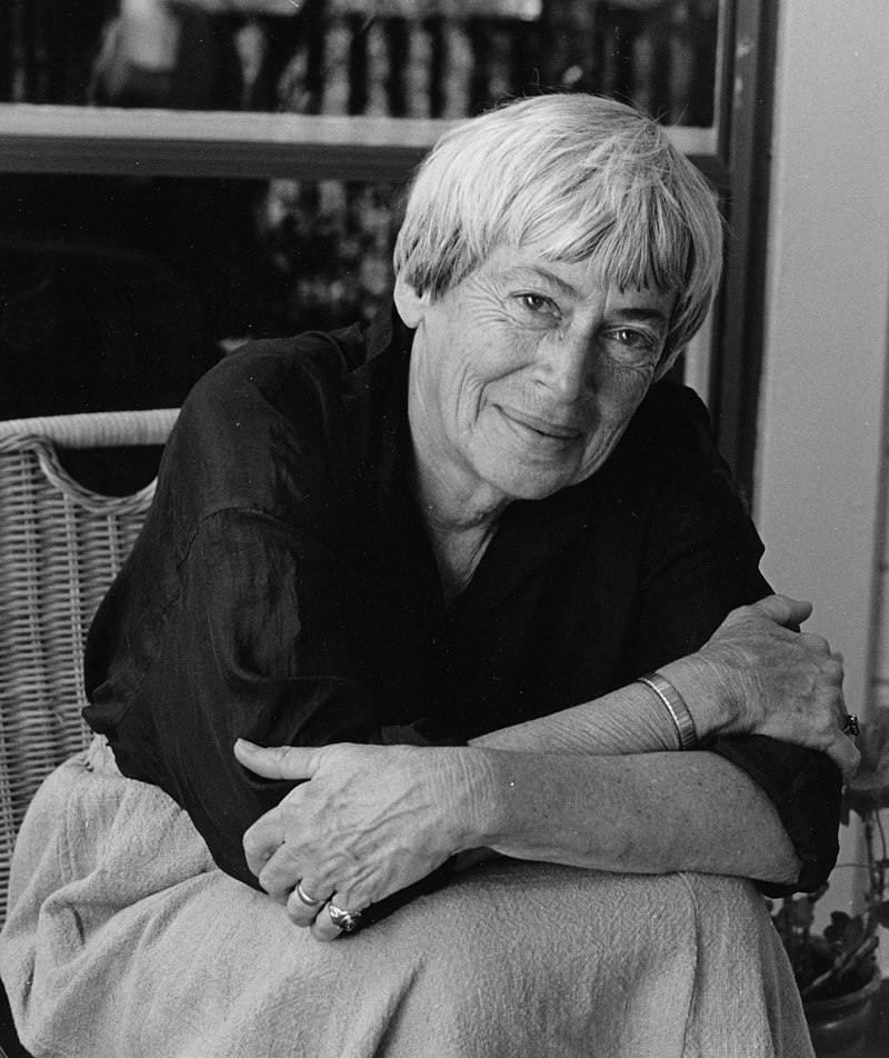 Ursula Le Guin - Ursula K. Le Guin  Photo by Marian Wood Kolisch  CC BY-SA 2.0