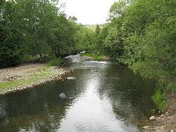Вид на реку около села урульги