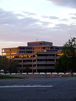 The USGS headquarters in Reston, VA