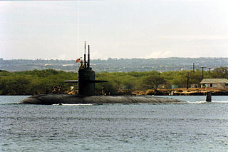 Uss Buffalo departing Pearl Harbor