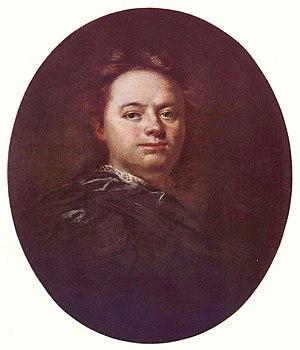 Wenzel Lorenz Reiner - Self-portrait