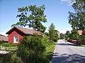 Vägen till kyrkan i Korpo centrum, den 28 juni 2007.JPG