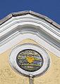 Vöcklabruck - Schloss Wagrain, Wappen.JPG