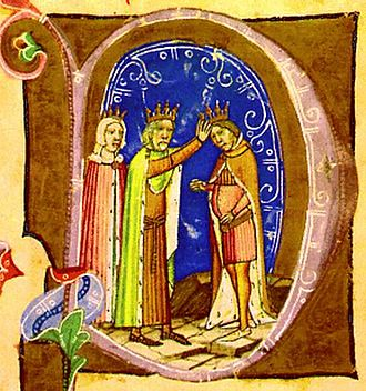 Duke of Transylvania - Stephen is crowned junior king